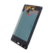 Untuk Samsung Galaxy Tab S T705 Layar Sentuh Digitizer Sensor Kaca + LCD Display Panel Monitor Perakitan