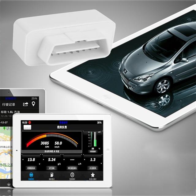 Mini portáteis sem fio ELM327 Wi-fi ELM 327 OBDII Leitor de Código de Ferramenta de Diagnóstico Do Carro OBD2 Scanner com plug ELM Wi-fi 327