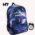 Korean New Galaxy Printing Backpack For Women BTS Backpack GOT7 Bigbang Waterproof Nylon Men's Backpack School Bag For Teenagers