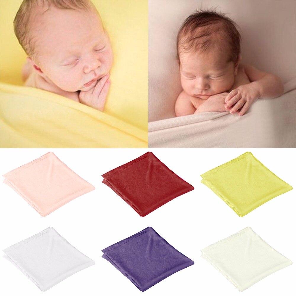 Nosii Infant Newborn Baby Kids Soft Cotton Swaddle Sleeping Bassinet Wrap Photography Prop Blanket