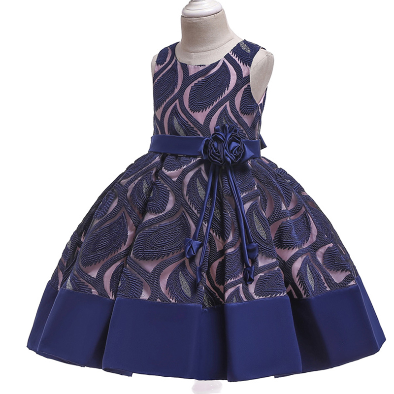 HTB1dafZd79E3KVjSZFGq6A19XXaE Girls Dress Christmas Kids Dresses For Girls Party Elegant Princess Dress For Girl Wedding Gown Children Clothing 3 6 8 10 Years