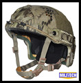 Lg/xlg kryptek highlander deluxe kevlar à prova de balas nij nível iiia 3a rápido ballistic helmet com hp branco relatório de ensaio garantia