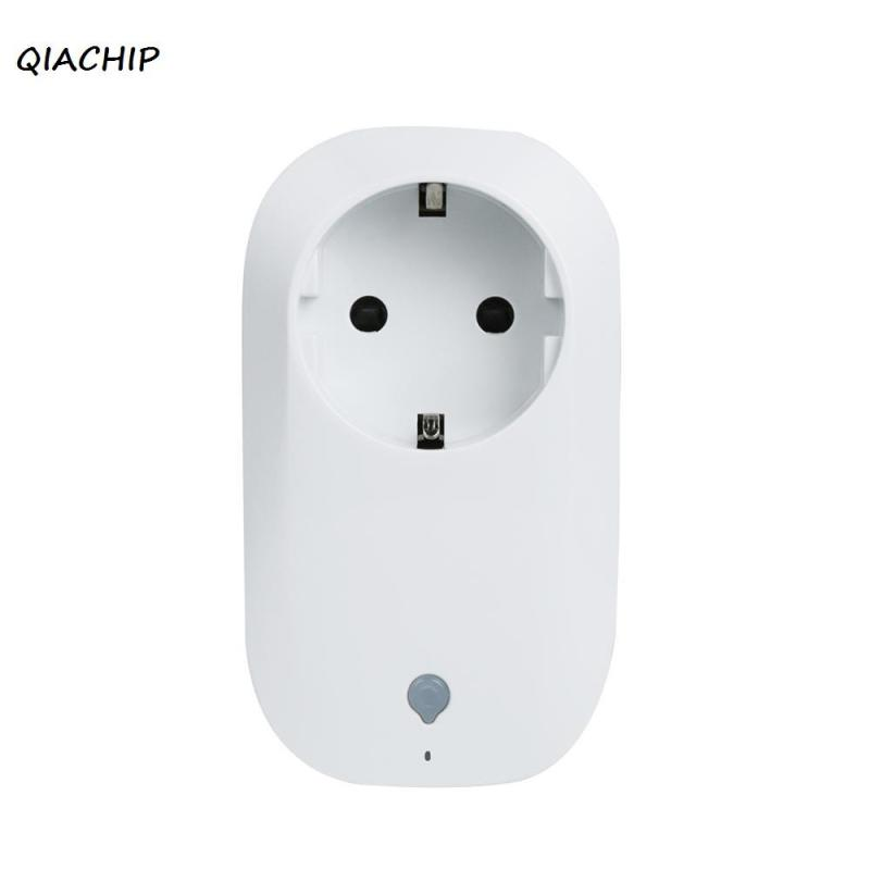 QIACHIP Smart Plug wifi Power Socket Plug Outlet Work with Amazon Alexa APP Wireless Remote Control for ios Andriod smartphone wireless remote control smart socket control power rf socket switch plug outlet for gsm 3g wifi golden security alarm systems page 9
