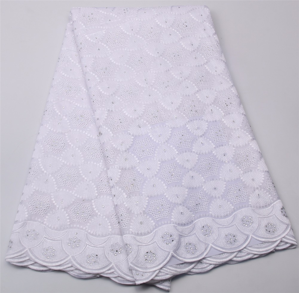 Good Quality Swiss Voile Lace Fabrics African Lace Fabric For Evening Dresses White Swiss Voile Lace