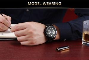 Image 5 - Mens Watches CURREN Fashion Business Quartz Watch Men Sport Full Steel Waterproof Wristwatch Male Clock Relogio Masculino