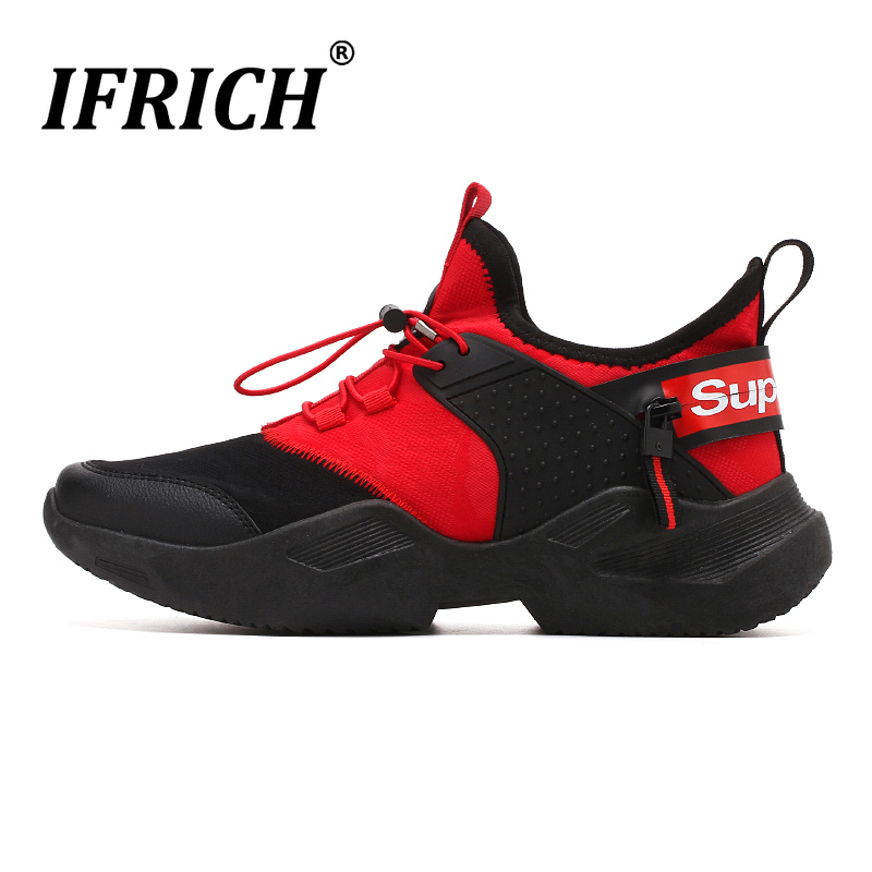 New Cool Athletic Sneakers Mens Designer White Black Shoes For Men Comfortable Mesh Jogging Shoes Wearable Man Shoes Sport in Running Shoes from Sports Entertainment