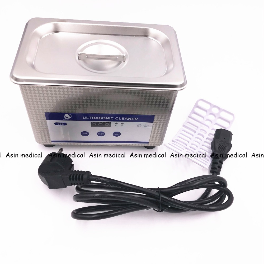 New Arrival Dental Laboratory Equipment 800 mL Digital Ultrasonic Jewelry Clean Bathroom Glass Cleaning Equipment цена 2017