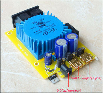 GZLOZONE 15W 5V USB Linear Power Supply Regulator Board CAS XMOS Raspberry Pi L14-53