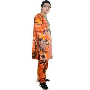 Image 3 - MD vêtements africains pour hommes, bazin riche, robes africaines pour hommes, chemises, haut, pantalon, costume dashiki africain, vêtements pour hommes