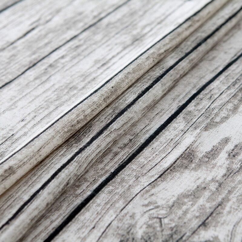 pastoral rectangular tablecloth cotton wood grain table cover set