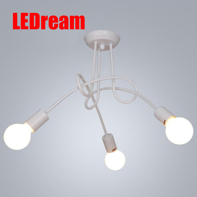 3 head Contemporary and contracted led the sitting room the bedroom light creative home children room to light