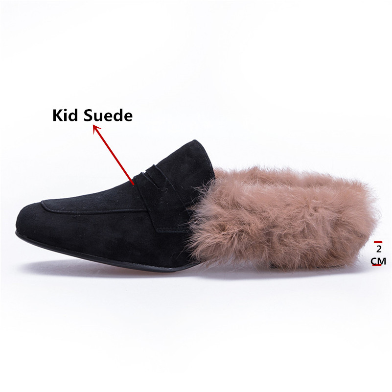 Negro Cómodos Conasco Gamuza Retro Mujer Zapatos Estrecha 1 Casuales Elegante Cuero Bombas Punta Slingbacks Mulas Planos P6qPdrgnE
