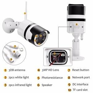 Image 3 - 2MP Mini Home Wifi Security Camera Outdoor 1080 P HD Wifi IP Camera Waterdichte IR Nachtzicht CCTV Surveillance Bullet cam
