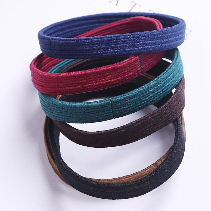 2017 New Arrival Women's Hair Accessories High Quality Elastic Hairbands Girls Hair Rubber Bands Tie Gum Ponytail Holder Ropes