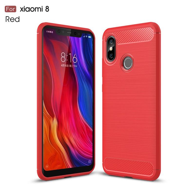 Soft Back Cover Case for Xiaomi 8 8SE Redmi 6 6A Pro (15)