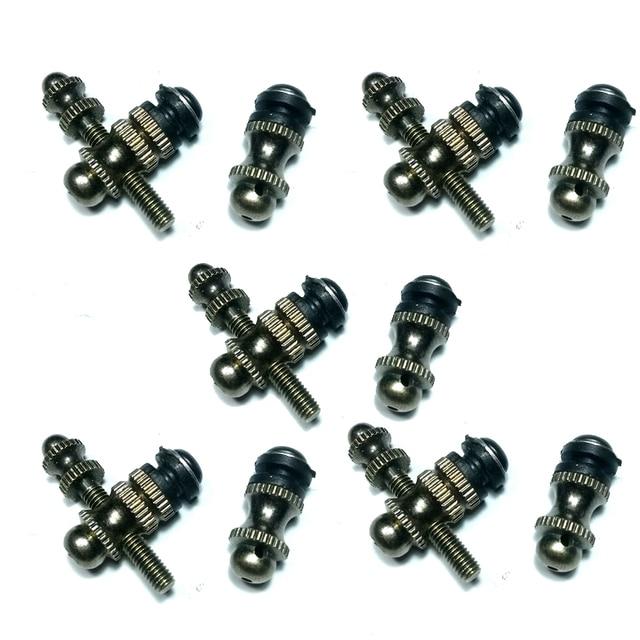 Tattoo Machine Repair Kit Brass Jonesy Binding Post, Binder 5 Sets Custom Tattoo Machine Parts