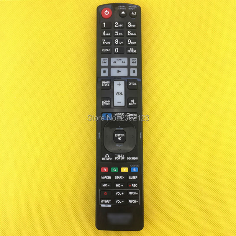 Replace for lg akb72975301 blu ray dvd player remote control.