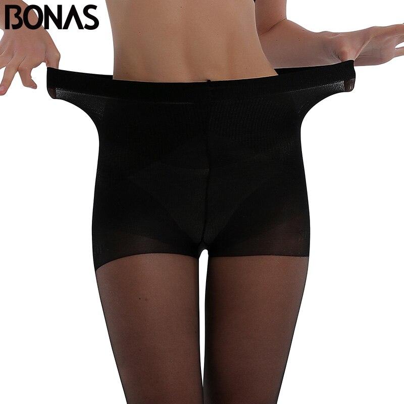 40eb0e40e BONAS Mulheres 20D Sexy Calças Justas de cintura Alta Proteção do Sol de  Verão Meia-