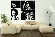 ビニールステッカーアメリカの歌手スターアーティスト音楽バーカフェデカールポスターホーム寝室アートデザイン装飾 2YY45