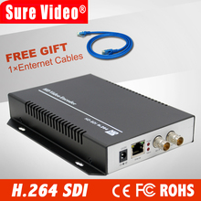 HTTP / RTSP / RTMP / UDP / ONVIF Protokolü ile IP Streaming Video Kodlayıcı için H.264 HD 3G SDI