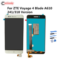 For ZTE Blade A610 LCD Display Touch Screen Replacement Digitizer Assembly For ZTE Voyage 4 Blade