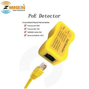 Image 5 - PoE Tester en Detector Bundel Inline PoE Spanning en Stroom Watt Tester + Zakformaat PoE Detector Voor PoE apparaten