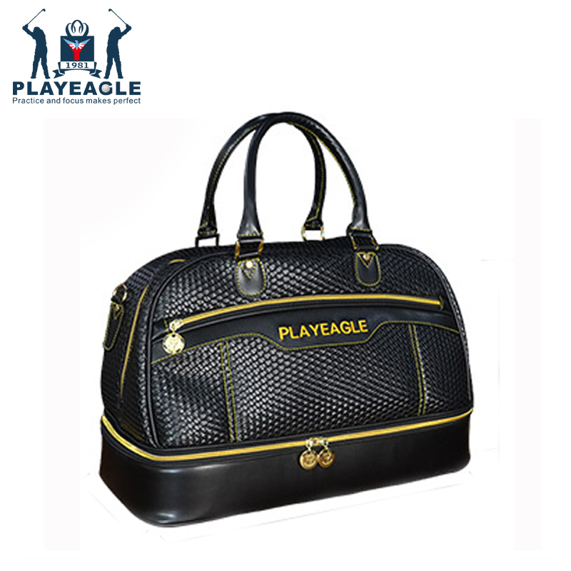 Playeagle Travel Appreal Black color Golf Boston Bag with ...