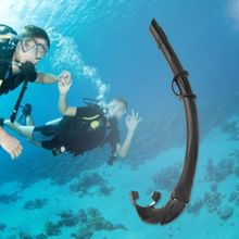 Swimming Diving Wet Breathing Tube Silicone Mouthpiece Underwater Hunting Snorkel Swim Scuba