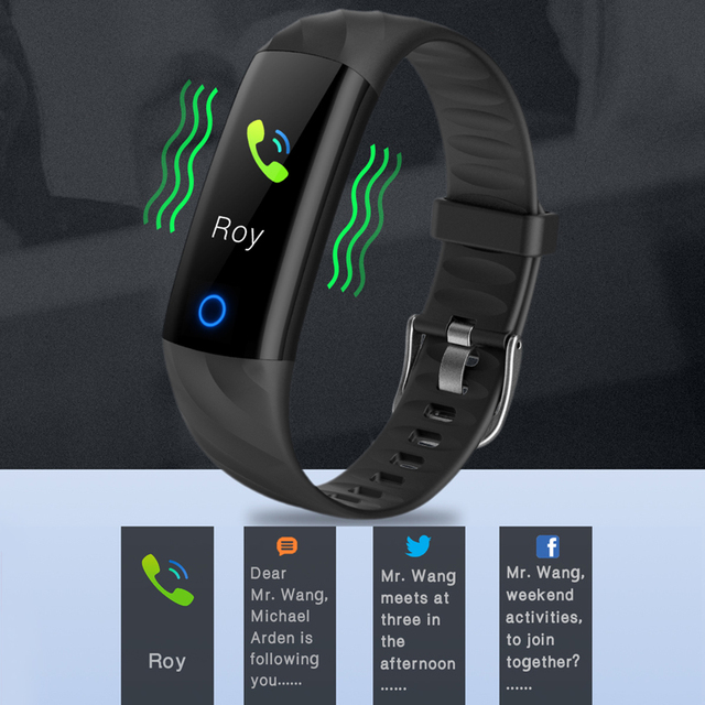 Reloj inteligente LIGE para mujer IP68 pulsera deportiva a prueba de agua inteligente rastreador de Fitness presión arterial Monitor de ritmo cardíaco reloj inteligente 5