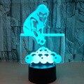 Spielen Billard Bunte 3d Nachtlicht Schreibtisch Lampe Touch Fernbedienung 3d Home Beleuchtung Kreative Geschenk Billard 3d Tisch Lampe
