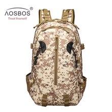 Aosbos Más Nuevo 3 P táctico militar mochila camping mochila de nylon bolsas de deporte al aire libre para acampar senderismo escalada deportiva bolsa