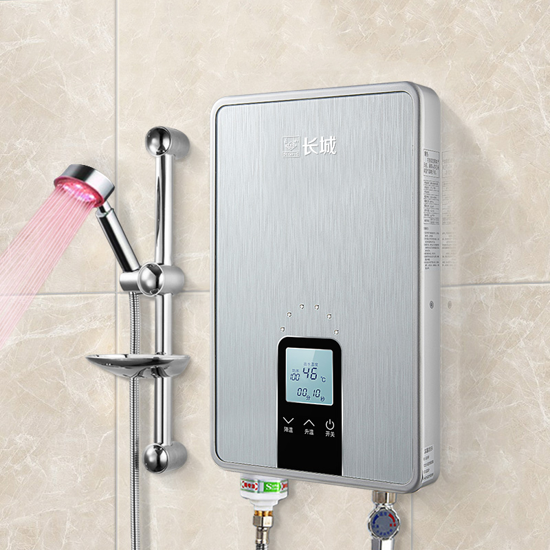 8500 w 3 s chauffage rapide instantané chauffe-eau électrique sans réservoir température réglable cuisine salle de bains eau chaude douche Thermostat