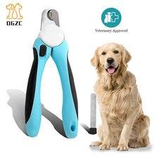 Машинка для стрижки ногтей для собак без боли и триммер для кошек с бесплатной пилочкой для ногтей профессиональный инструмент для ухода за лошадьми из нержавеющей стали