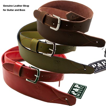 цена на New Arriving Guitar Strap Genuine Leather Handcraft for Electric Guitar Bass Acoustic Guitarra Folk Guitar Accessories