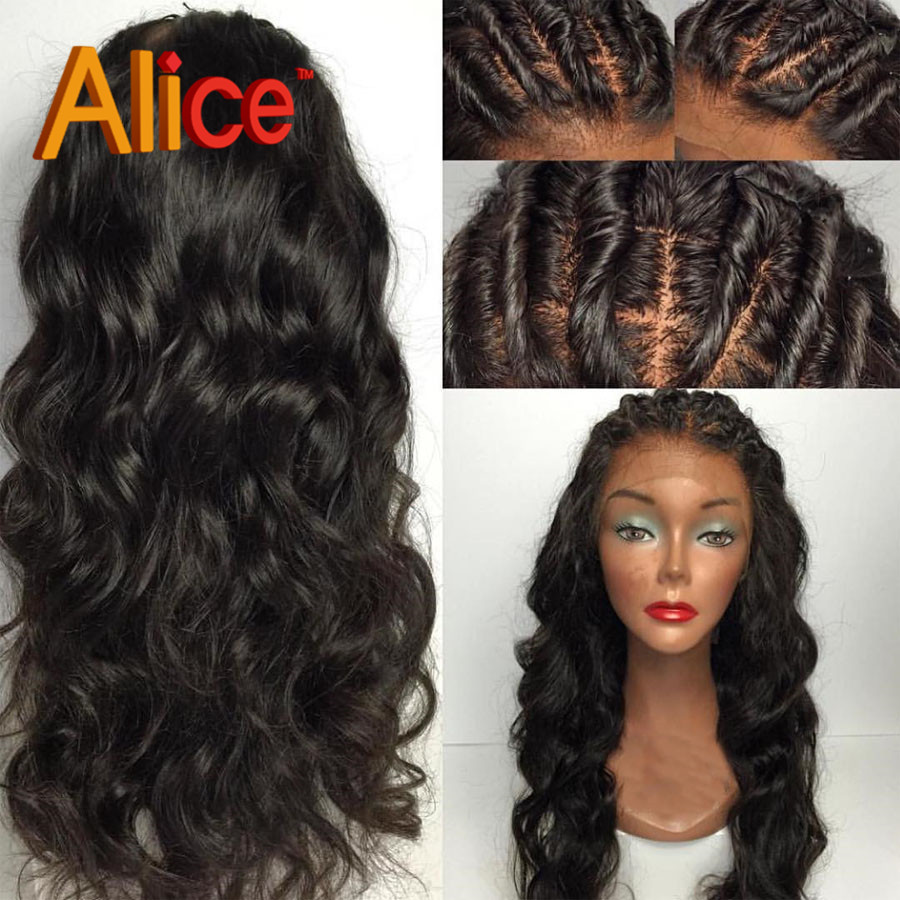 9a Top Glueless Silk Top Full Lace Wigs Natural Hairline Loose Wave