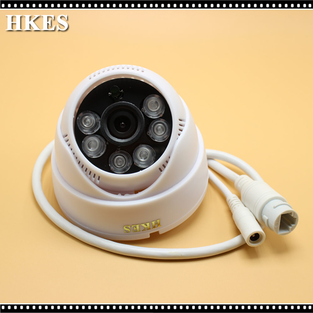 Free shipping In stock English Version IP Camera 2MP Mini Dome Camera POE IP CCTV Camera new in stock ip jw1 cy