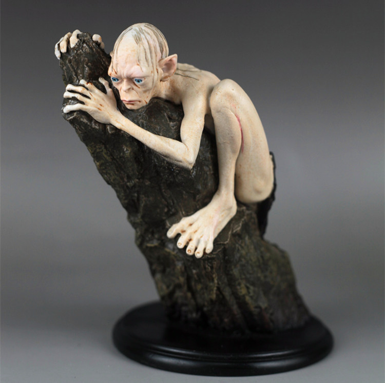 [Funny] Lord Of The Rings Toy Gollum  Action Figure Hang Furnishing Articles The Hobbit Statue Keepsake Hallmark Toy Doll Model