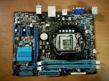 original motherboard for ASUS H61M-E boards LGA 1155 DDR3 mainboard 16GB H61 Desktop motherboard Free shipping