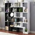 8859 Vitrine Multi Farbe Wohnzimmer Wein Schrank Moderne Schlafzimmer Buch Rack Kinder Landung Holz Bücherregal Bücherregal-in Bücherregale aus Möbel bei