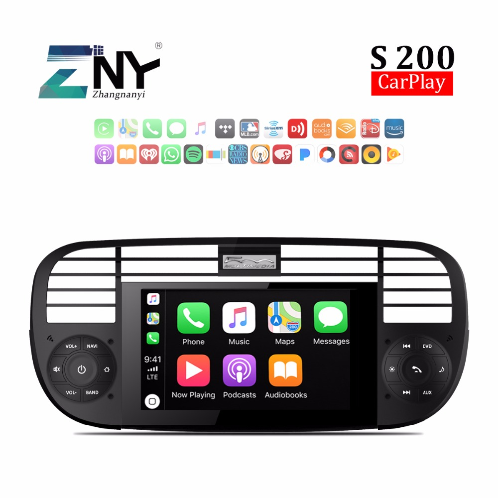 android 8 0 auto radio for fiat 500 hd car stereo rds fm. Black Bedroom Furniture Sets. Home Design Ideas