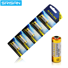 SRISAN New 5x/card 5pcs/Lot 23A12V Battery Small 23A 12V 21/23 A23 E23A MN21 MS21 V23GA L1028 Alkaline Dry