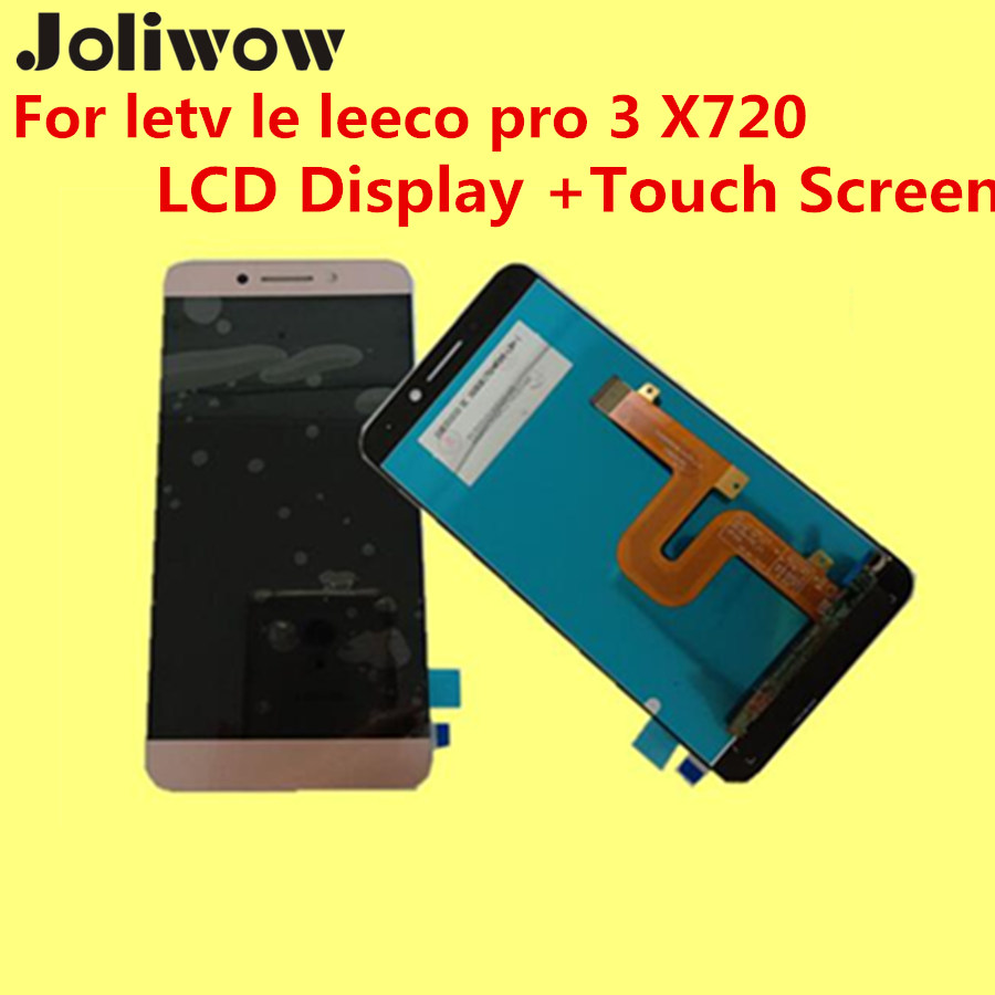 High quality For letv le leeco pro 3 X720 LCD Display Touch Screen glass film Digitizer