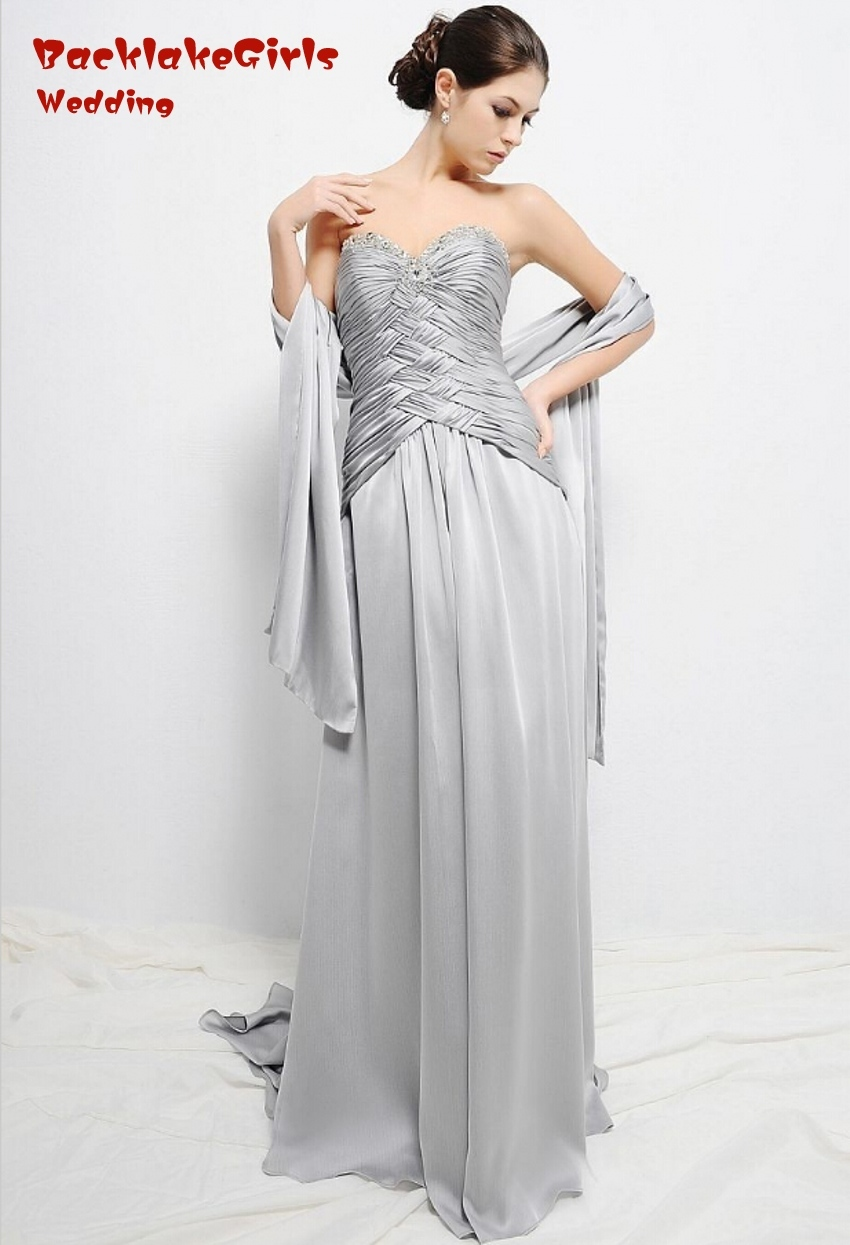 sheath vintage silver chiffon sweetheart mother of the bride dresses pant groom brides mother dresses for