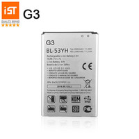100 IST Original Mobile Phone Battery For LG G3 D855 D850 D858 D859 F460 VS985 BL53YH