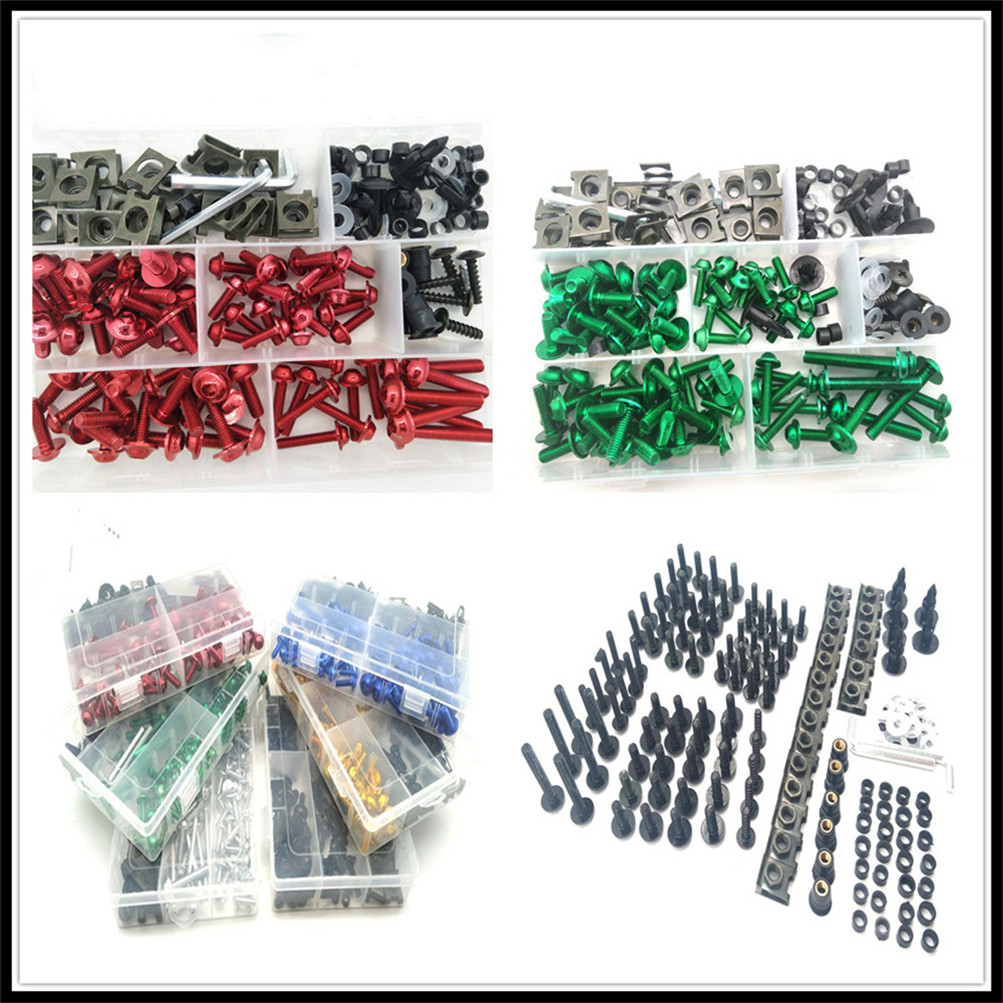 Motorcycle Fairing Body Bolts Kit Spire Screw Nuts set Clips for KTM Bajaj PulsaR <font><b>200</b></font> <font><b>NS</b></font> 1190 AdventuRe R 1050 RC8 Duke image