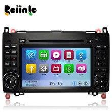 Car 2 Din  DVD GPS Stereo Device Head Unit Navigation Radio Player for Benz  W169 W245 W639 W906 W209 W311  W315 W318
