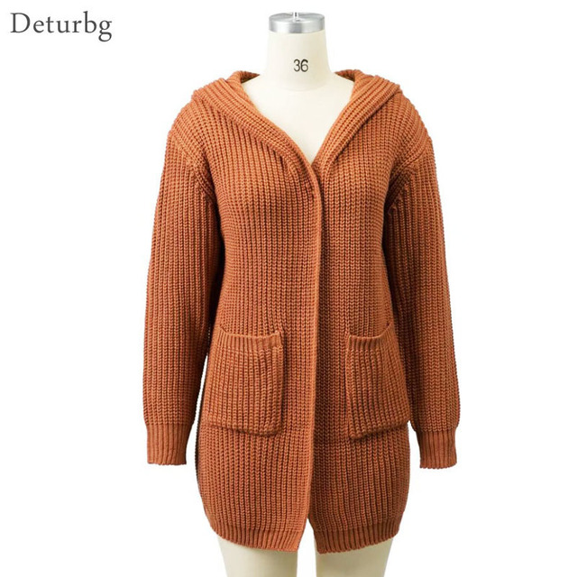 Deturbg Womens Fashion Back Tied Slits Cardigans Ladies Casual ...