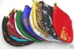 Wholesale Gift Pouch Silk Bag Small Brocade Jewelry Packing Chinese Gift bag