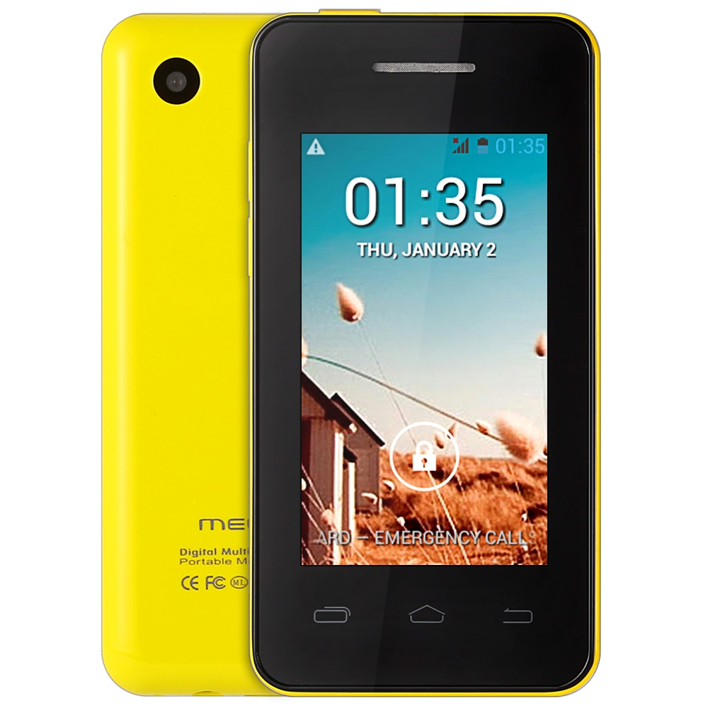 Цена за Оригинальный MELROSE S1 2.4 дюймов Android 4.2 Ultra slim Mini Смартфон MT6572 Dual Core Камеры Bluetooth WiFi Мобильный Телефон