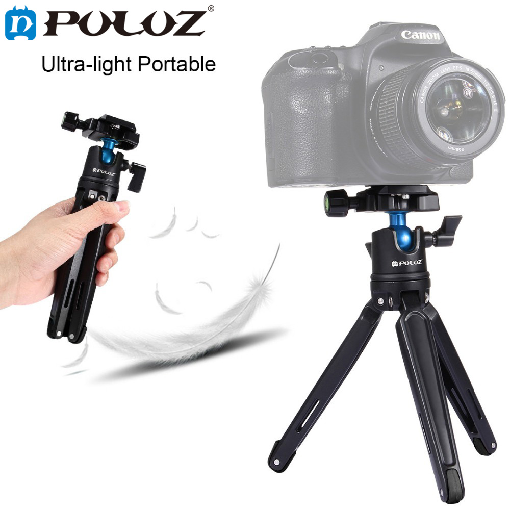 PULUZ Pocket Mini Photography Tripod Desktop CameraTripod W/h 360